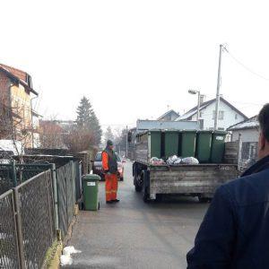 Нове канте за одлагање кућног отпада у Крајишкој улици