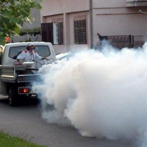 Сузбијање комараца са земље 1. августа