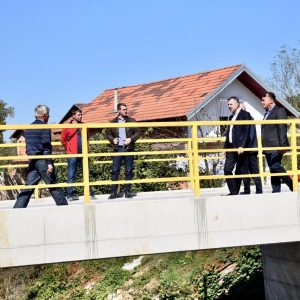 Изграђен нови мост у Градини