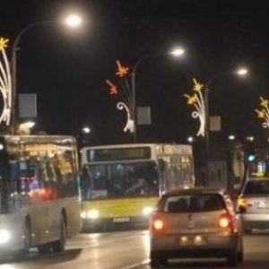 Besplatan prevoz u novogodišnjoj noći