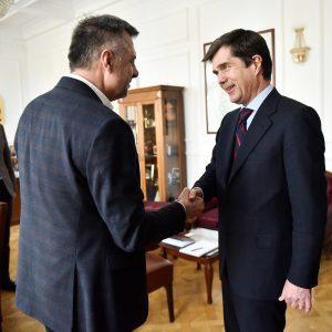 Сусрет градоначелника Радојичића са америчким амбасадором у БиХ