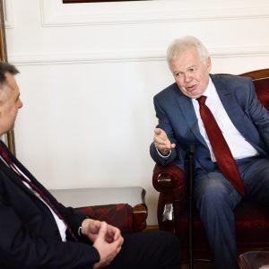 Поводом Дана града: Радојичић са руским амбасадором