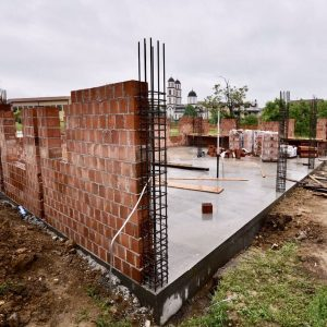 Добар темпо у изградњи амбуланте на Петрићевцу