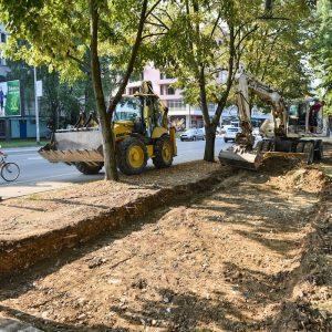 Проширење Видовданске улице, уводе се четири траке