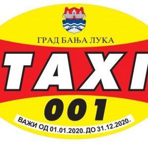 Од сутра издавање такси наљепница