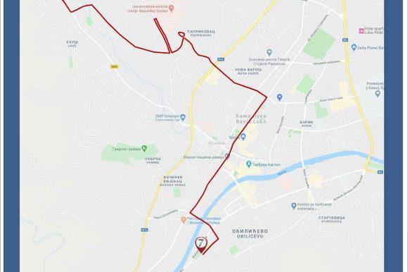 """Нова аутобуска линија """"спојиће"""" неколико насеља са УКЦ-ом"""