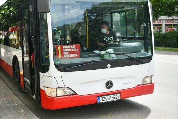 Javni prevoz: Počela prodaja đačkih mjesečnih karata za maj