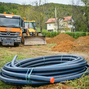 Почела изградња секундарне водоводне мреже у Јагарама