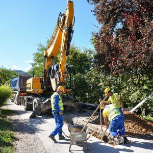 Ада: Почела изградња канализације у улицама Дујкa Комљеновића и Вида Њежића