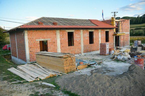 У изградњи друштвени дом за мјештане Горње Пискавице