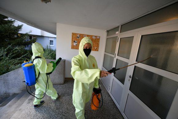 Цивилна заштита: Почела масовна дезинфекција
