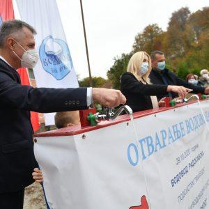 Радосавска: Стигла вода са Црног врела