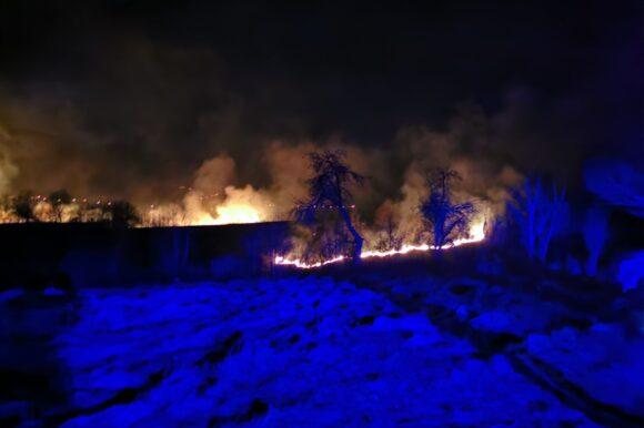 Угашен пожар у Љубачеву