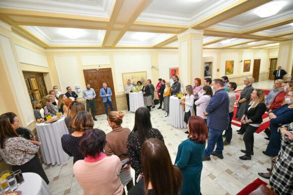 """""""Срећни часови"""": Градоначелник се упознао са запосленим у Одјељењу за просторно уређење"""