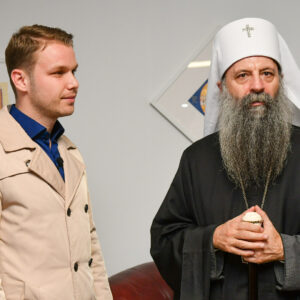 Станивуковић у Јасеновцу са патријархом Порфиријем: Захвалан сам Богу на овом сусрету