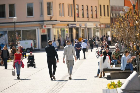 Popusti u trgovinama i lokalima u užem centru grada