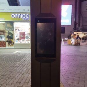 Grad se ograđuje od neprimjerenog sadržaja plasiranog na ekranu u centru grada