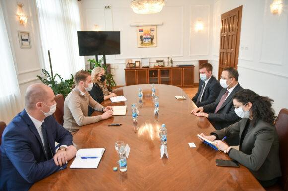 Сусрет градоначелника Станивуковића са генералним конзулом Републике Турске