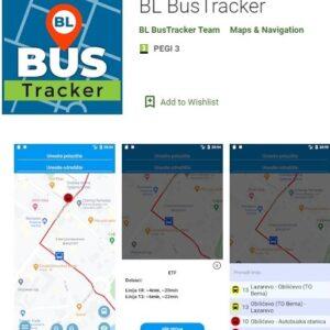 Проширена апликација за праћење аутобуса на линијама градског превоза