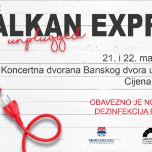 Због великог интересовања публике: Концерт Балкан Експреса у два термина