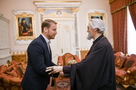 Градоначелник разговарао са владиком бањалучким г. Јефремом