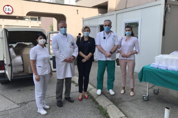 Донирана медицинска опрема Универзитетско-клиничком центру Републике Српске