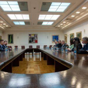 Састанак предсједника Скупштине Града са делегацијама српских општина у ФБиХ