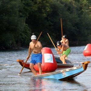 Брза трка дајак чамаца у недјељу, 1. августа
