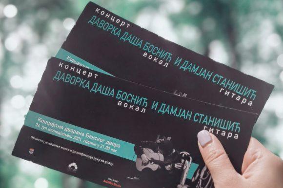 Концерт Даворке Даше Боснић и Дамјана Станишића