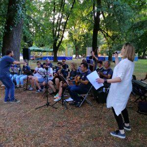 Сликарство и музика на трговима, граду на Врбасу дали посебан шарм