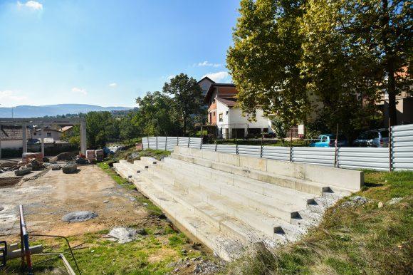 Radovi na novoj dvorani na Laušu: U toku gradnja vanjskih tribina