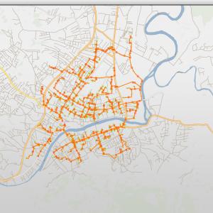 Град добио прве ГИС мапе за топловоде и вреловоде