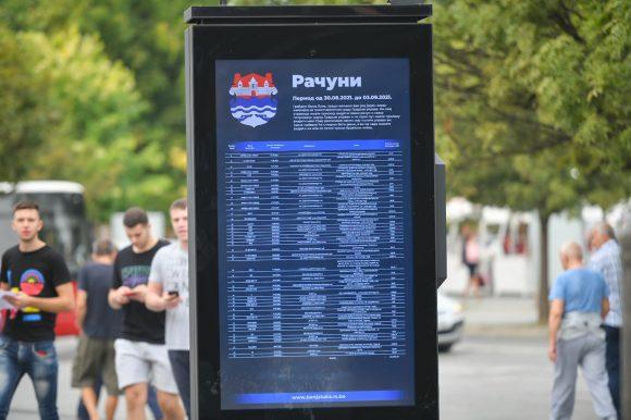 Računi i dalje u centru grada: Do sada objavljen 31 izvještaj