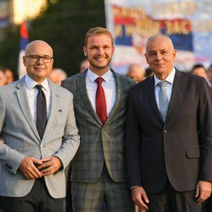 Градоначелник у Београду присуствовао прослави Дана српског јединства