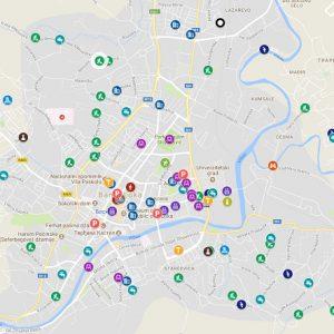 Интерактивна мапа реализованих пројеката