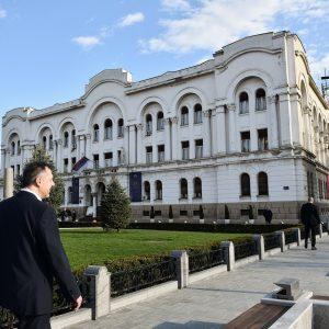 Почела обнова Банског двора