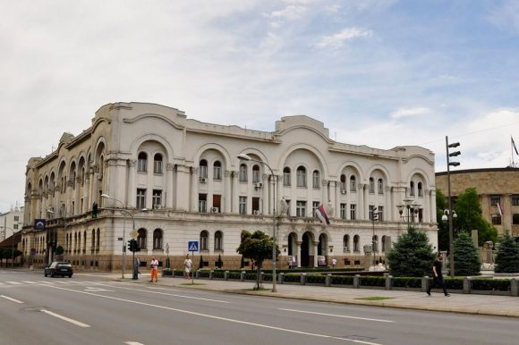 Крећу од крова: Почиње обнова Банског двора
