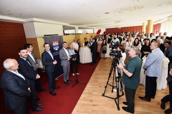 Градоначелник приредио пријем поводом Дана града