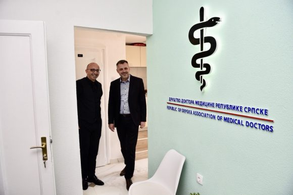 Друштво доктора медицине у новим просторијама