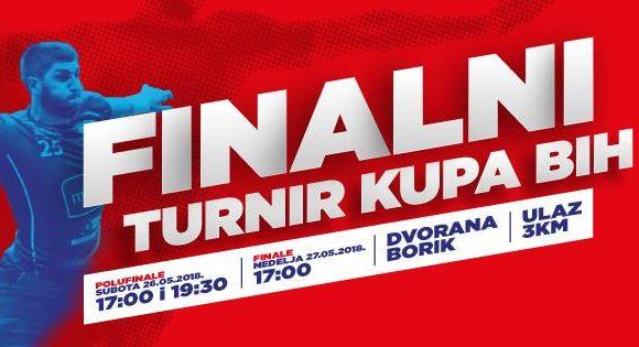 Бања Лука домаћин финалног турнира Купа БиХ за рукометаше