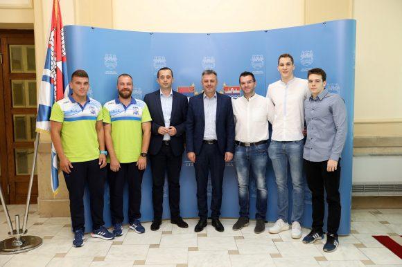 Градоначелник примио учеснике Медитеранских игара