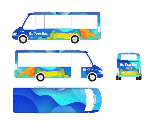 Panoramski mini bus