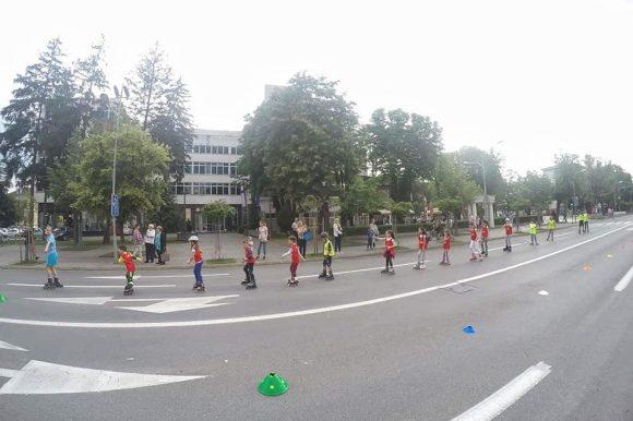 Главна улица пјешачка зона: И овај викенд ролеријада