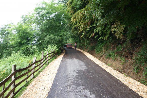 Асфалтирани путеви у Сарачици и Бистрици