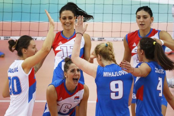 Припреме за одбојкашки меч Србија – Бугарска теку по плану