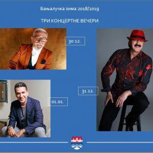 U Novu godinu sa Harisom Džinovićem, Željkom Joksimovićem i Željkom Samardžićem