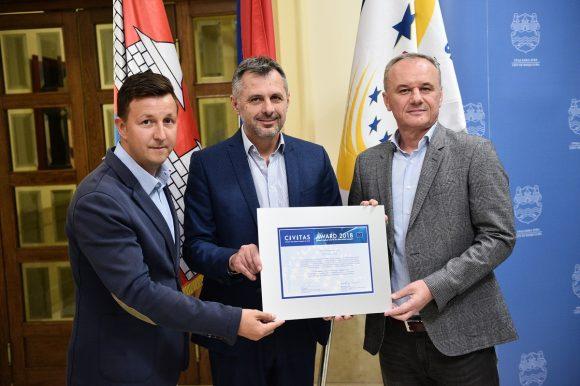 Радојичић: Награду за саобраћај добили у конкуренцији седам европских градова