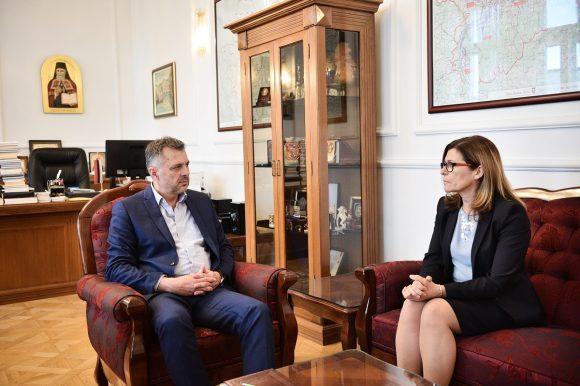 Радојичић разговарао са амбасадорком Словеније