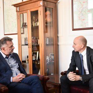Пријем за амбасадора Мађарске