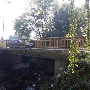 Проширење моста у Драгочају
